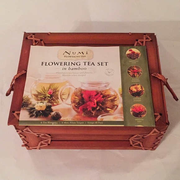 M_5bd725742beb790815ec3382 & Numi Other | Perfect Gift Flowering Tea Set | Poshmark
